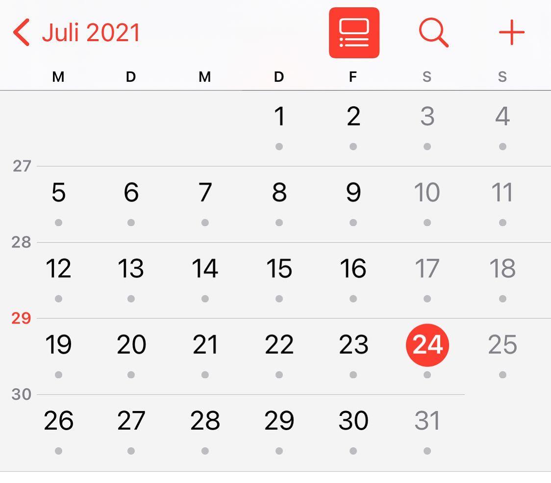 23. Juli 2021